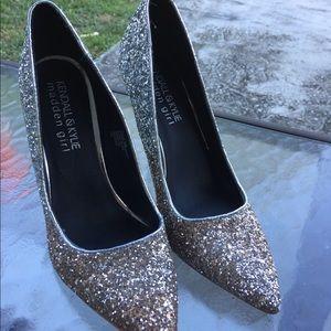 Madden Girl Kendall & Kylie Glitter Pumps Size 8.5
